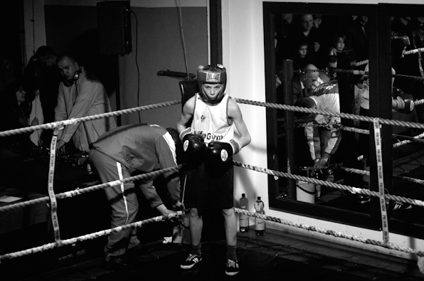 dzieci boksuja